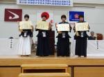 中学女子個人2年生の部入賞者