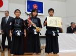 団体‐小学校低学年の部準優勝