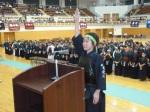 選手宣誓:角間川道場(打川 明日望 うちかわ あすみ)選手